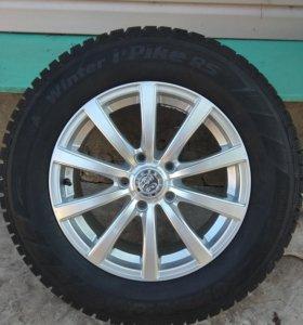Продаю зимние шины HankookR16 4 шт.