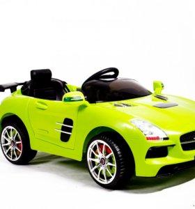 Электромобиль копия Mercedes-Benz 17 зеленый