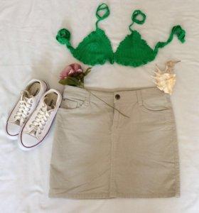 Crop - top, юбка