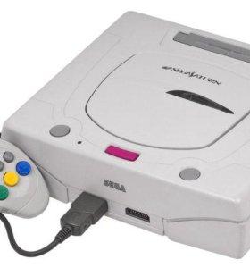 Чипованная Sega Saturn