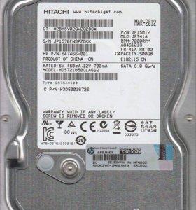 Жесткий диск Hitachi Deskstar 500GB 3.5-in