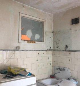 Требуется ремонт 3х комнатной квартиры