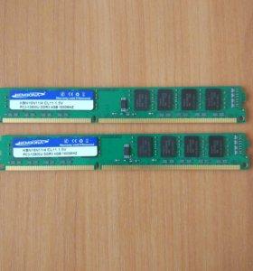Новая Оперативная память Kembona 4гб ddr3 1600MHz.