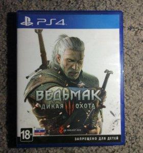 Игра ВЕДЬМАК PlayStation 4