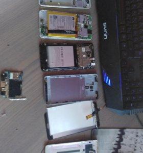 Нерабочие телефоны на запчасти