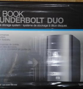 HDD box WD My Book Thunderbolt Duo