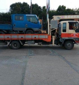 Эвакуатор,грузовик с краном