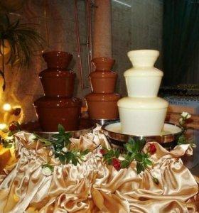 Шоколадный фонтан,фруктовый фуршет