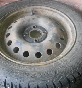 Б/У колеса в сборе R15