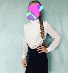 Продам блузку для девочки в идеальном состоянии