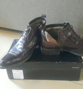 Aldo brue зимние ботинки 43-44 р