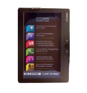 Электронная книга Citizen видео аудио плеер