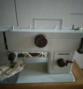 Швейная машина Чайка134А новый в идеальном