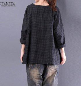 Блузка с длинным рукавом Zanzea