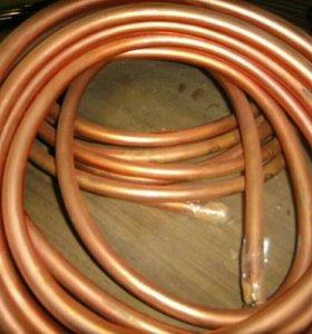 Трубка медная диаметр 14мм, толщина стенки 1мм