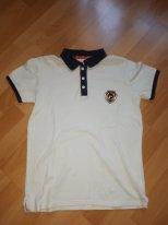 футболка-поло комбинированная для мальчика