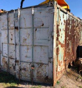 Продам контейнер 20 футов, отсек для рефрижератора