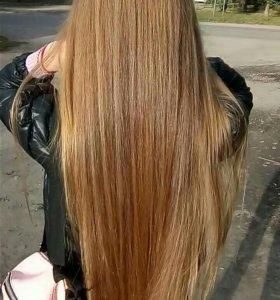 Кератиновое восстановление волос