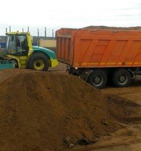 Доставка песка строительного мк005