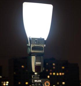 Рассеиватель для вспышки Canon/Profoto/Nikon
