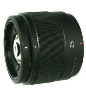 Объектив Panasonic Lumix H-H025E 25mm f/1.7 G Asph