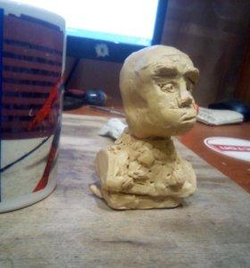 Лепка ( пластилин скульптурный )