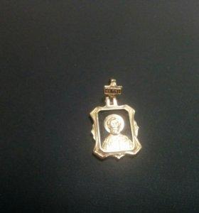 Подвеска-Иконка Золото 585