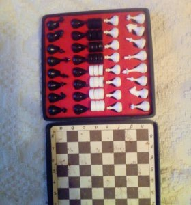 Шахматы,шашки магнитные,советских времен