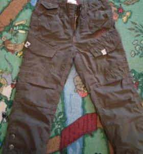 Утепленные штаны фирмы levis