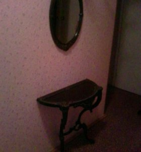 Комплект из столика и зеркала