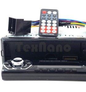 Магнитола со съемной панелью/ USB+AUX+Радио