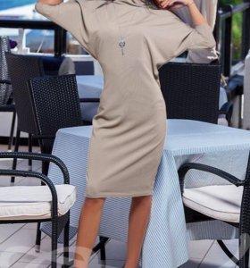 Платье летучая мышь новое