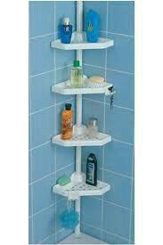Новая полка для ванной