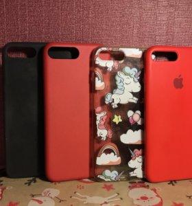 Чехлы для iPhone 7+ 8+