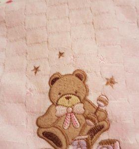 Детский плед - одеяло и полотенце
