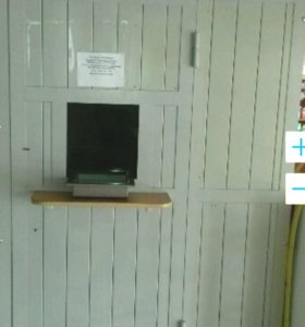 Кабина металлическая для ломбарда (будка)