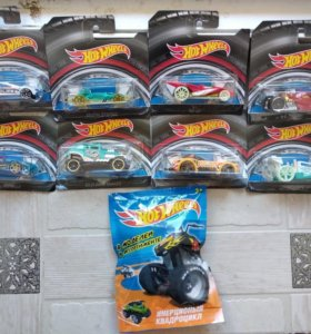 Машинки Hot wheels новые