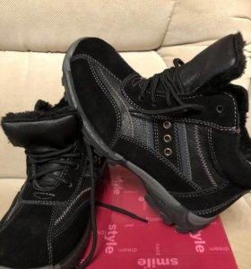 Ботинки зима .. ..Новые!