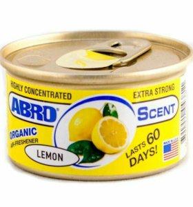 Ароматизатор ABRO Lemon