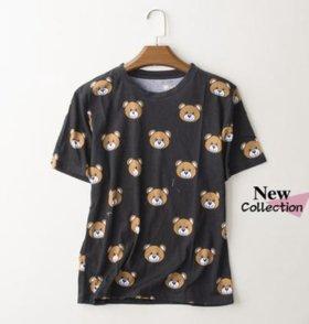 Классная футболка в стиле Moschino! Новая