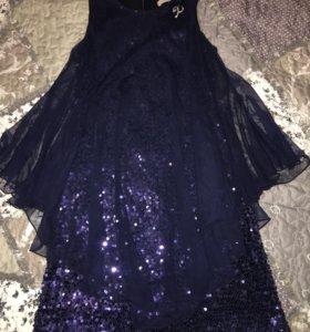 Платье на девочку 146 р