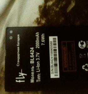 Батарея на fly fs 505