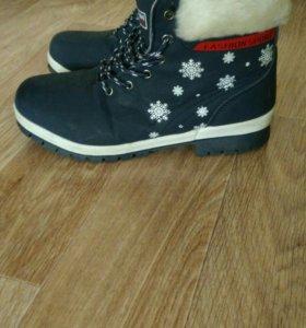 Обувь женская,36 размер,зимние