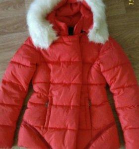 Куртка зимняя 42-44 размер,в отличном состоянии