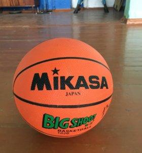Мяч баскетбольный ( новый ) в магазине стоит 1000р
