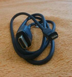 Hdmi кабель мультимедийный оригинал Sony Ericsson