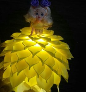 Кукла-светильник