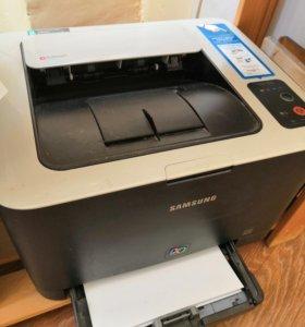 Лазерный цветной принтер SAMSUNG