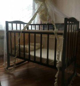 Кроватка с наполнением