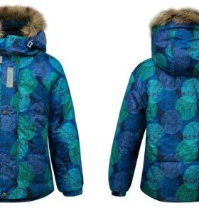 Куртка зима новая рост 116-122